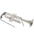 BG A31T Mundrohr-Durchziehwischer für Trompete