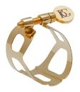 BG Blattschraube Sopran-Saxophon L50 Tradition, Goldlack...