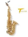 Arnolds&Sons Sopran-Saxophon Terra ASS-301, gebogen