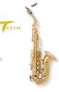 Arnolds&Sons Sopran-Saxophon Terra ASS-320, gebogen