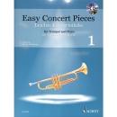 Easy Concert pieces 1 - für Trompete, inkl. CD