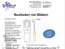 Blätterschleifen - Basis-Anleitung...