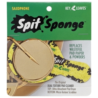 Key Leaves Spit Sponge™ Saxophone Size Pad Dryer