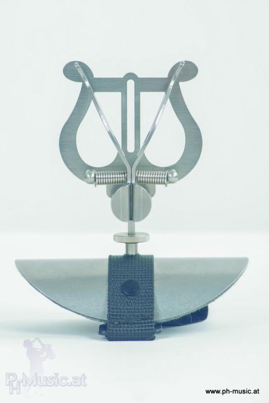 lyra marschgabel für kinder edelstahl für querflöte mit